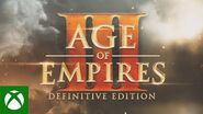Age of Empires III Definitive Edition - Announce Trailer