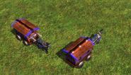 Guard war wagon aoe3 model
