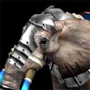 War elephant model