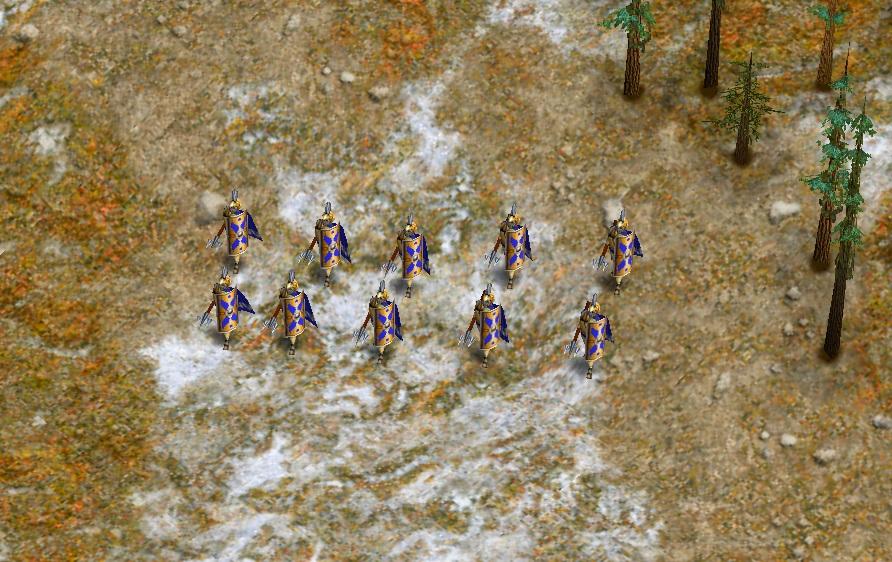 Siege infantry
