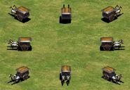 Aoe2 - war wagon group