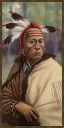 Cherokee history portrait