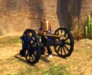 Gatling Gun bombard unique model