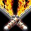 Flaming Weapons