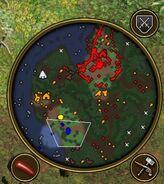 Map of scenario