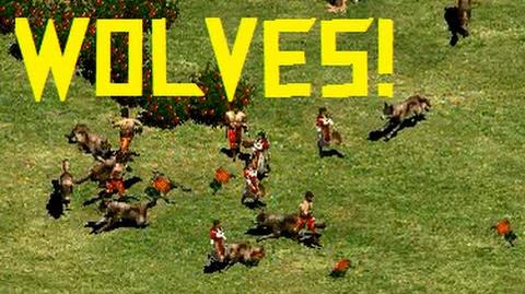 Wolves in Age of Empires 2 HD
