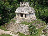 Palenque Temple Sun