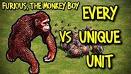 FURIOUS, THE MONKEY BOY vs EVERY UNIQUE UNIT AoE II Definitive Edition