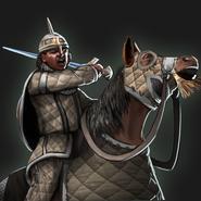 Sennar horseman aoe3de portrait