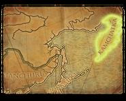 Kamchatka map