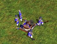 Howitzer bombard mode