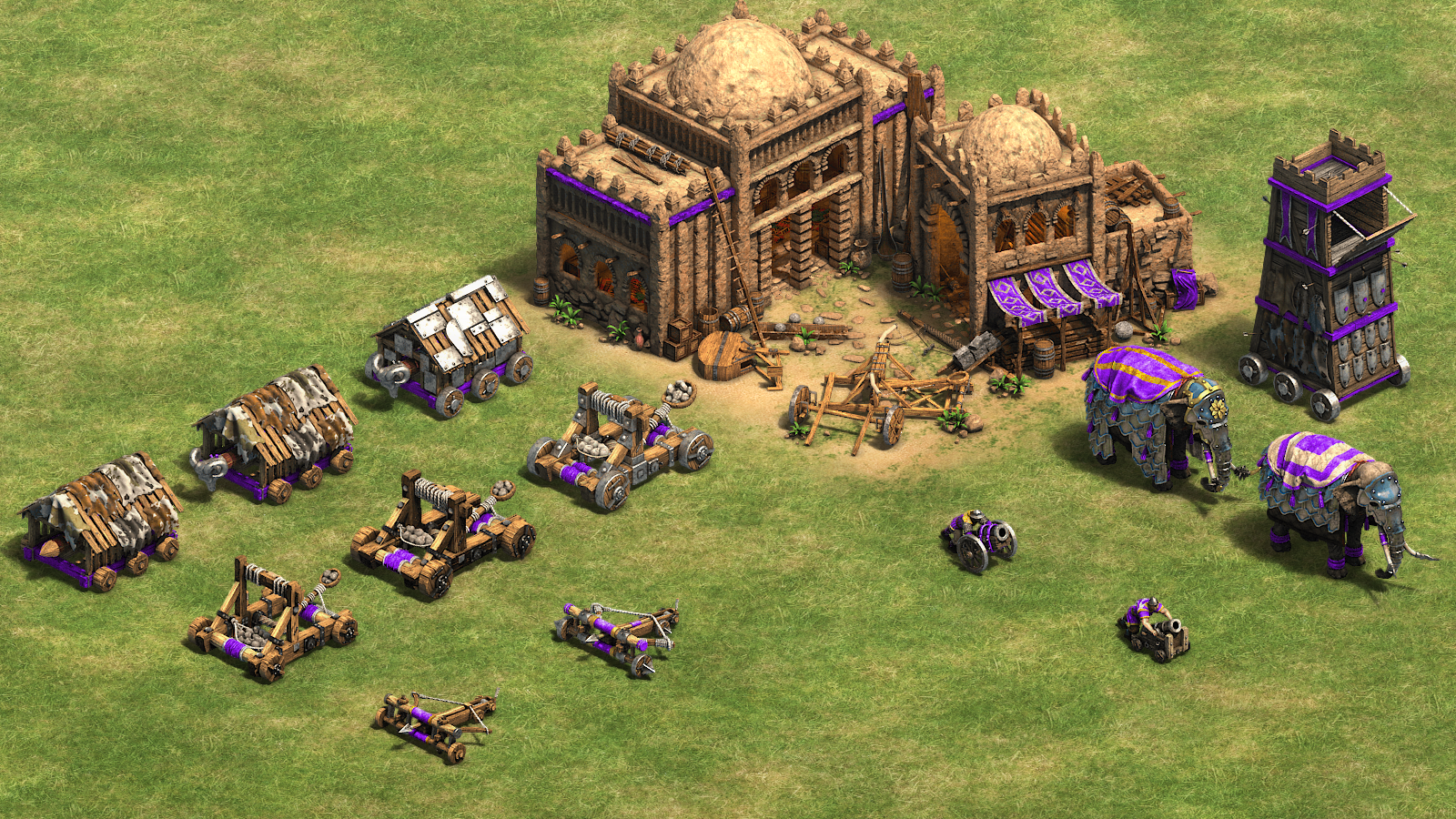 Siege weapons (Age of Empires II)