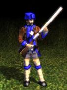 Guard Skirmisher Model