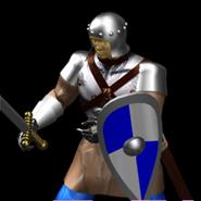 Man at arms render