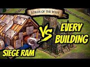 SIEGE RAM vs EVERY BUILDING - AoE II- Definitive Edition