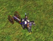 Heavy horse gun
