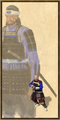 Samurai history portrait
