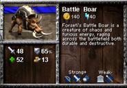 Battle Boar AoEM