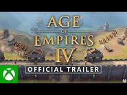 AGE OF EMPIRES IV - OFFICIAL GAMEPLAY TRAILER
