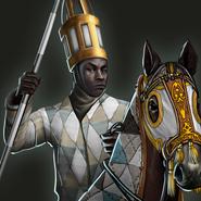 Lifidi knight aoe3de portrait