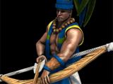 Plumed Archer