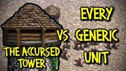 THE ACCURSED TOWER vs EVERY GENERIC UNIT AoE II Definitive Edition