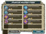 Spartan Weapon Store