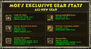 Moe New Gear Exclusive