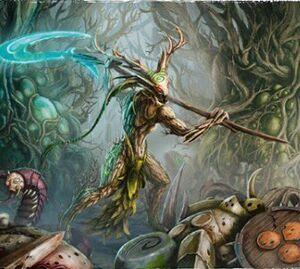 Bruja de los Árboles Branchwych Sylvaneth Ilustración.jpg