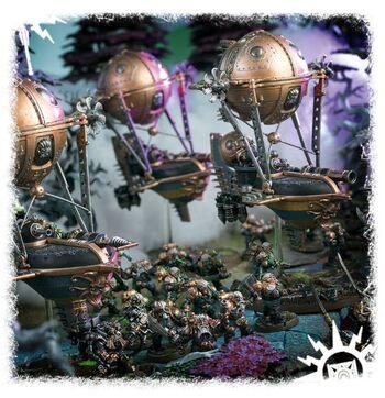 Cañoneras Grundstok Arcanautas Kharadron diorama.jpg