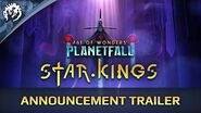 Age of Wonders Planetfall STAR KINGS - Announcement Trailer