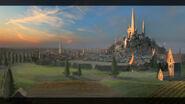Высшие эльфы-арт города в AoW III