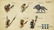 AoW 3. Goblins. Art