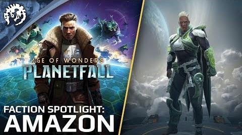 Age of Wonders Planetfall - Gameplay Faction Spotlight Amazon