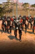 Человек-мечник (AoW III)-геймплей