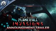 Age of Wonders Planetfall INVASIONS - Announcement Trailer