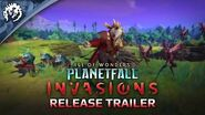 Age of Wonders Planetfall INVASIONS - Release Trailer-0