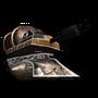 Огненный танк-иконка