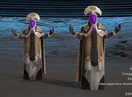 Боец Авангарда, светоносная