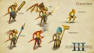 Дракониды-концепт-арт (AoW III)