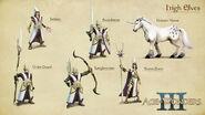 Концепт-арт высших эльфов