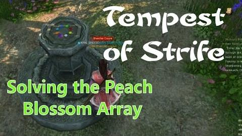 Age of Wushu- Tempest of Strife- Solving the Peach Blossom Array