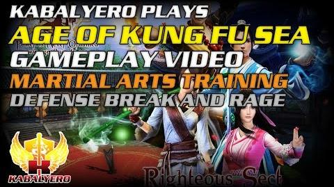 Age Of Kung Fu SEA Gameplay Video ★ Martial Arts Training ★ Defense Break And Rage