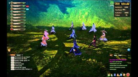 Age of Wushu Wulin Team Practice