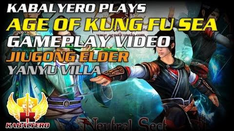 Age Of Kung Fu SEA Gameplay Video ★ Jiugong Elder ★ Yanyu Villa