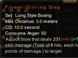 Flower-Stirring Step