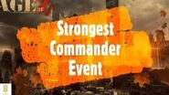 Strongest Commander Event - Age of Z Overview