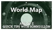 Age of Z - Quick Tips - World Map