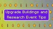 Strongest Commander Event - Upgrade Buildings and Research Event Tips - Age of Z