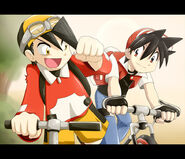 Gold y red pokespe by tehluzbeeh-d3bwnbq